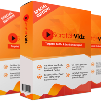 Scratch Vidz Pro by OJ James Review – Brand New App Converts Any Video Into ATraffic Induced, Leads Sucking, Profit Generating MachineOn Complete Autopilot!