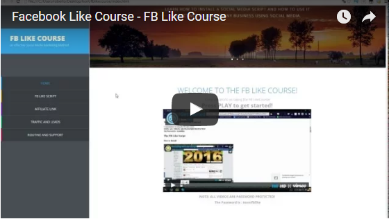 Fb Like Course by Phil Snipes