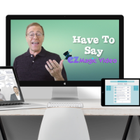 Ez Magic Video By Matt Bush Review- Introducing The World's First Truly Customizable Human Spokesperson Video Software: Actually, Control What Real Humans Say!
