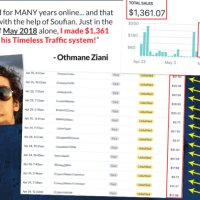 Timeless Traffic by Stefan Ciancio Review-The Brand New Case Study Showing Soufian's Timeless Traffic Method To The World. The New Solution To Free And Cheap Traffic In Any Niche.
