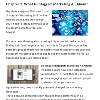 Instagram Marketing 2018 Success Kit PLR by Dr. Amit Pareek Review – The Brand-New Instagram Marketing Exclusive Training Package Containing All Necessary Resources and Modules to Help You Create a Successful Instagram Business