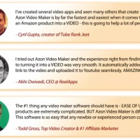 Azon Video Maker Commercial by Ankur Shukla Review – The Brand New Video Creating Tool that can Convert any Amazon Products into Videos that will Give You Tons of Revenues from Amazon Affiliate Links