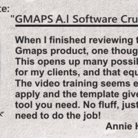 GMAPS A.I by Mo Taqi Review – New Cloud Based App Makes It Easy To Find Businesses That Are Willing To Hire You Every Single Month To Perform This One 'Service' For Them That They Desperately Need!