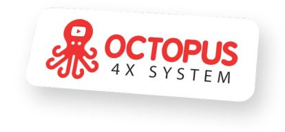 Octopus Revolution 4X by Tom Yevsikov and Gaurab Borah