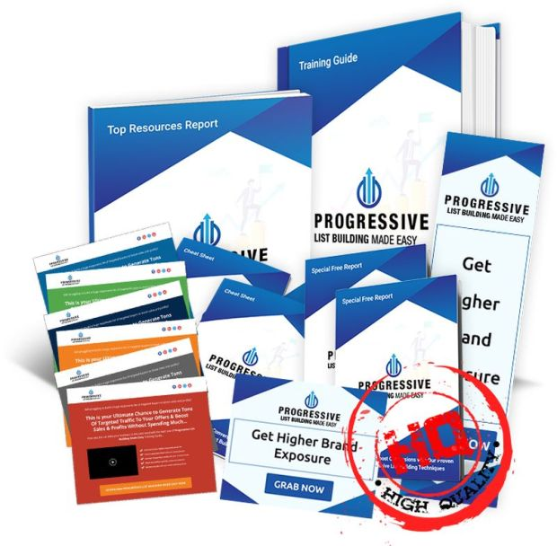 Progressive List Building DFY Business PLR by Dr.Amit Pareek