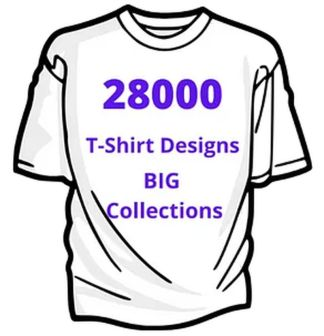 POD:28000 T-shirt designs- Big Collection by Arun C