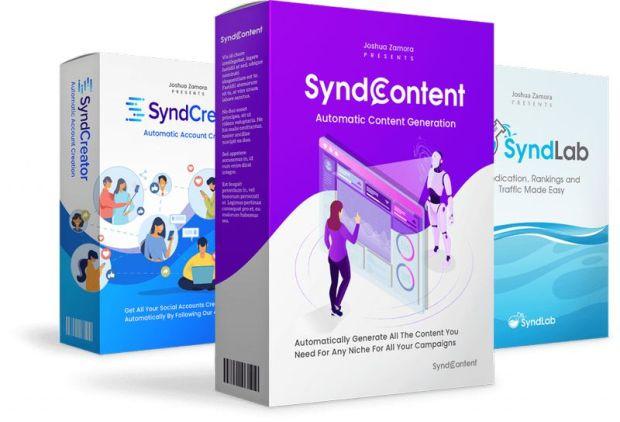 SyndTrio Agency by Joshua Zamora