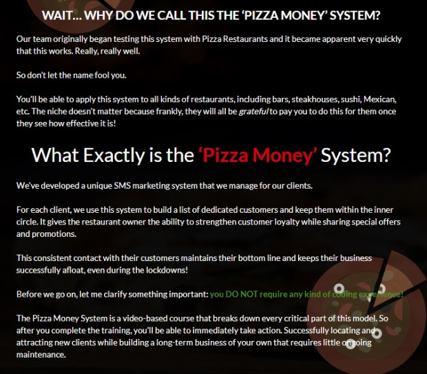 Pizza Money by Ben Adkins