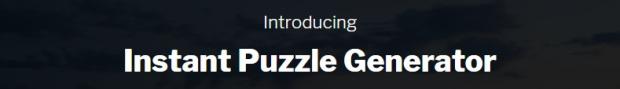 Instant Puzzle Generator by Kurt Chrisler