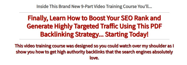 EZ PDF Backlinks - PLR Videos by Jason Oickle