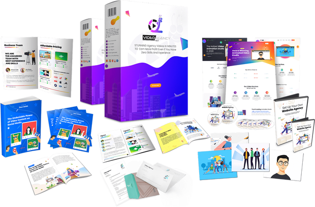 Video Agency Kit byAzam Dzulfikar