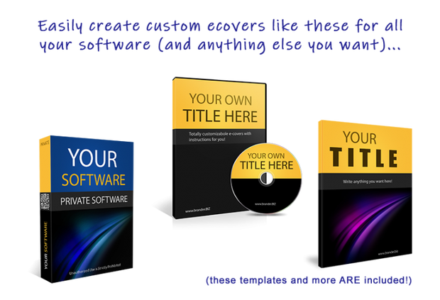 Instant Software Brander Bundle by Eric Holmlund
