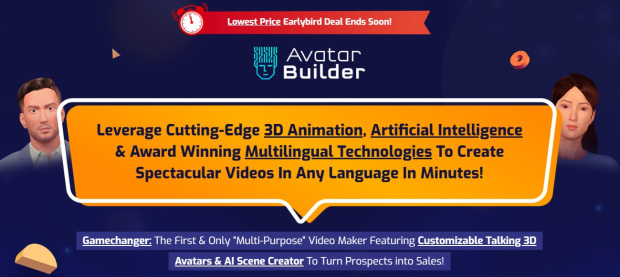 AvatarBuilder Commercial by Paul Ponna and Sid Diwar