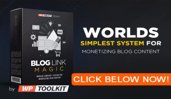 WP Toolkit Blog Link Magic + 'Done For You' Link Library by WP Toolkit and Trusted Expert