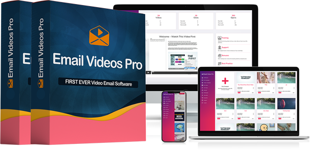 Email Videos Pro by Mario Brown