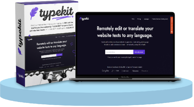 TypeKit Commercial by Victory Akpos