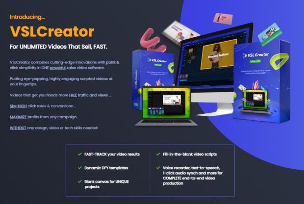 VSLCreator Gold Commercial by Brett Ingram | Mo Latif