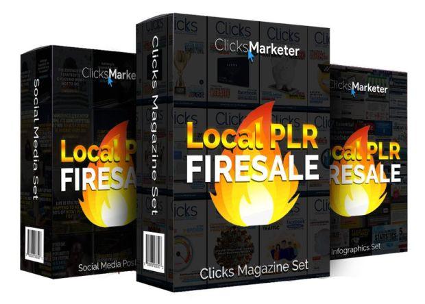 ClicksMarketer Local PLR Firesale by Matt Lee