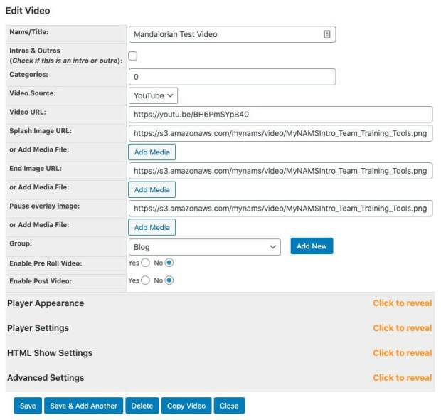 Simple Video Management System Plugin Multi Site Unlimited by David Perdew