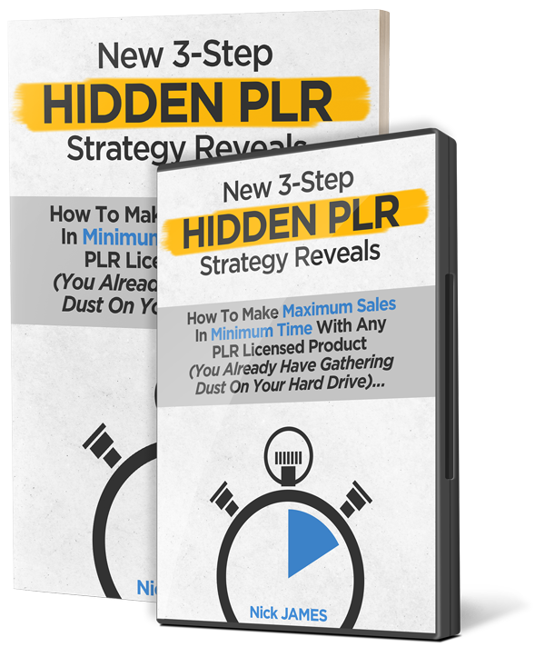 Hidden PLR Dime Sale by Nick James and Kate James