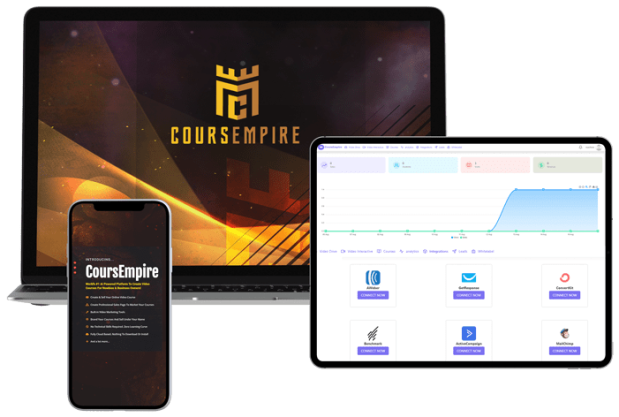 CoursEmpire Premium Agency by Victory Akpos AI Power