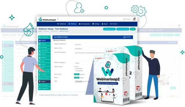 Webinarloop 2 Elite One Time by Cyril Gupta