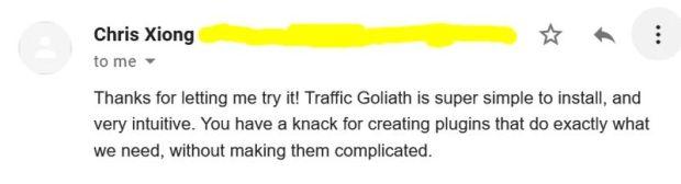 Traffic Goliath by George Katsoudas