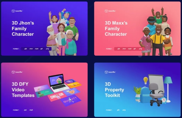 3D Toonflix Commercial by Arif Chandra